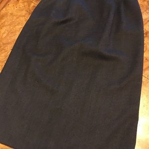 Ann Taylor Other - Ann Taylor Size 8 Gray Wool Skirt Suit